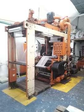 Maquina De Impresión Flexografica.