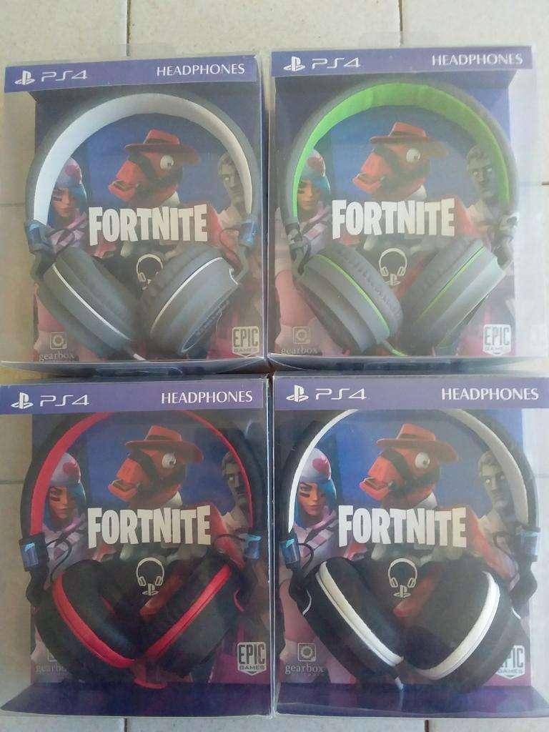 Auricular Headset Tamaño Mas Grande Ps4 PlayStation 4 Fornite C/Microfono Y Coneccion 3.5 ACEPTO TODAS LAS TARJETA 0