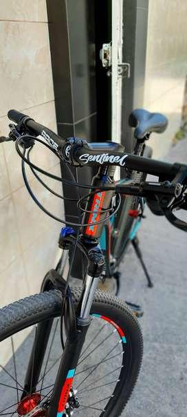 Bicicleta MTB TRINX Modificada