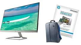 Monitor HP Ultra Slim FHD + Curso de Inglés