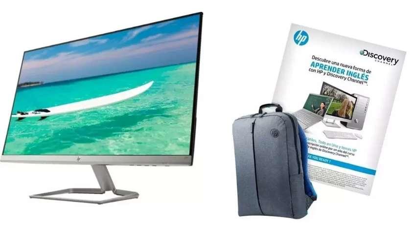 Monitor HP Ultra Slim FHD + Curso de Inglés 0