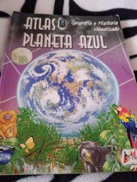 Vendo libro Atlas planeta Azul