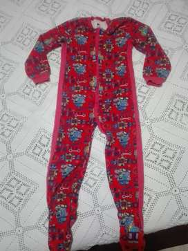 Pijama enterizo offcorss robots talla 5T