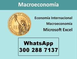 Clases de Macroeconomia y Economia Internacional