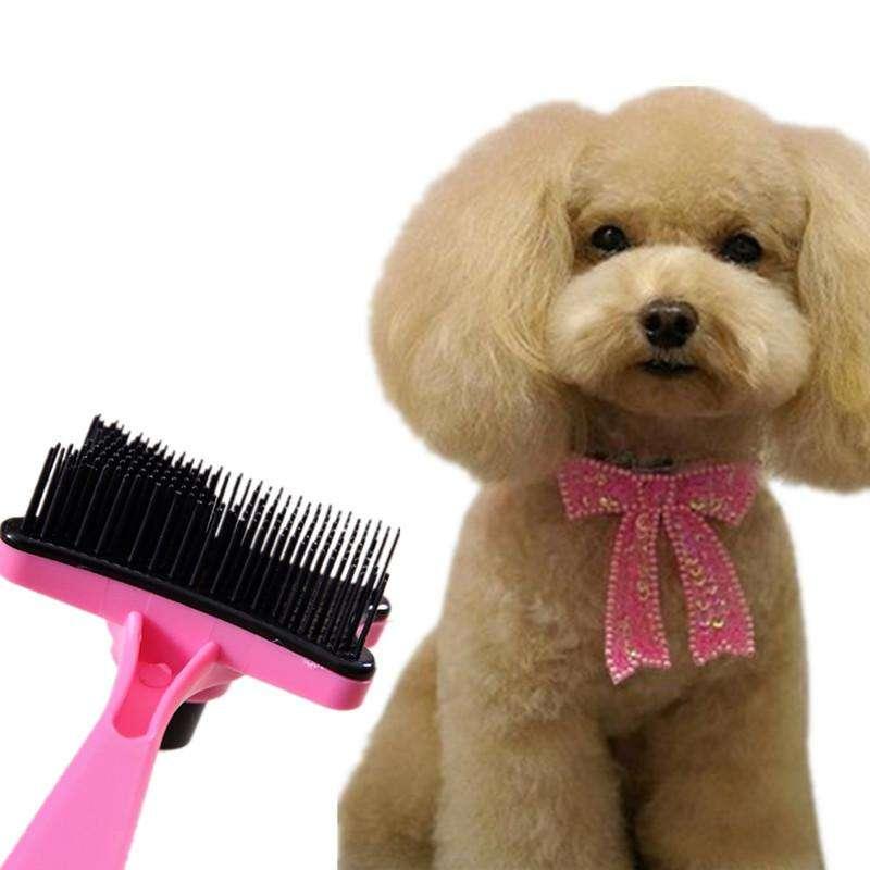 Cepillo Relajante Para Mascotas, Retirando El Pelo Excedente