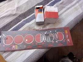 Vendo juego de aros junta y filtro de aceite para  motor Perkins 6354 recibí tarjeta
