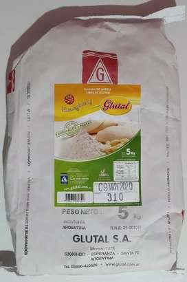GLUTAL harina de arroz x 5kilos (SIN TACC)