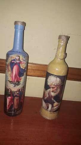 Botellas para decoracion