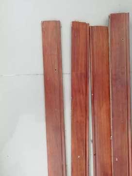 Vendo zócalos de madera