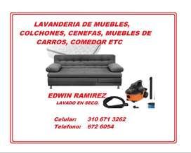 Lavandería de muebles, colchones, etc - cartagenera (A DOMICILIO)