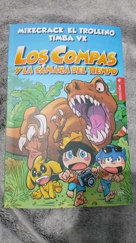 Libro Los Compas Y La Cámara del Tiempo (3er libro)
