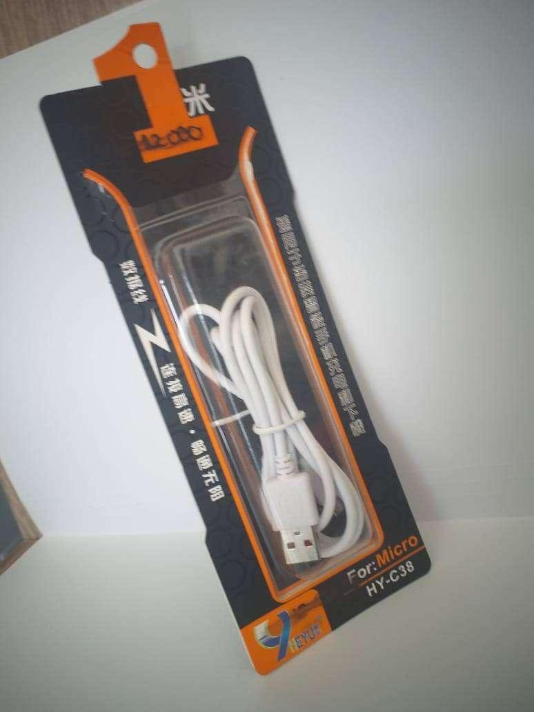cable v8 blanco carga rapida 0
