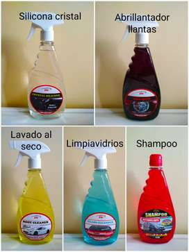 3W carwash lavadero silicona tablero llantas