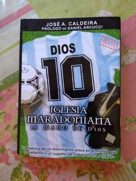 Libro La Mano De Dios Iglesia Maradoniana De Jose Caldeira