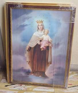 Cuadro Virgen del Carmen 40x50