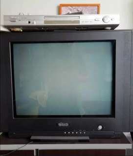 "Remato Tv HiTec 21"" Stereo"