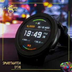 Smartwatch No.1 DT78 Resistente al agua y batería de larga duración