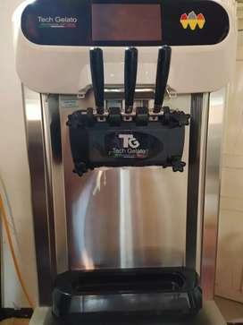 Máquina de helados suave