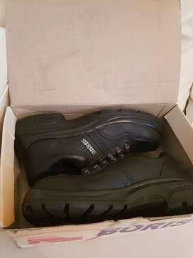 Calzado Boris Premium Seguridad Negro Acero 3014 NF