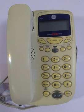 Teléfono General Electric con visor
