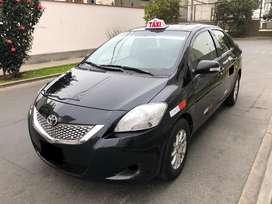 Toyota yaris 2012 taxi gnv 7850 dolares