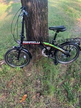Bici Plegable Tomaselli Nueva