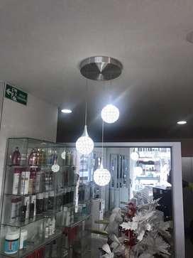 Hermosa lampara para decoracion