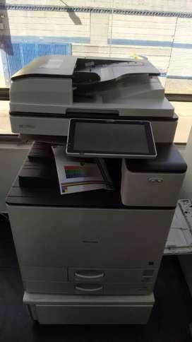 impresora, fotocopiadora ricoh 2504