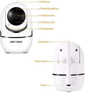 Camara de Vigilancia Robotica WIFI tipo Domo