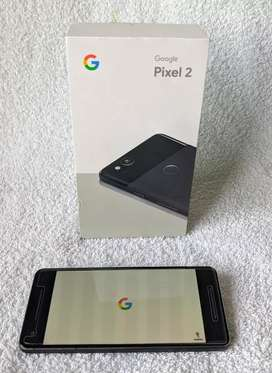 Google pixel 2 negro muy buen estado con accesorios y caja original.