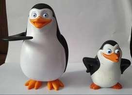 Muñecos Plastico Pingüinos Madagascar Juguete Mc Donalds ASP
