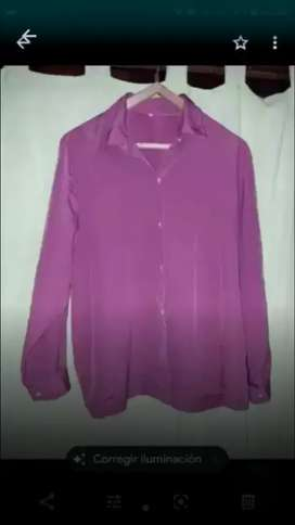 CAMISA DE MUJER TALLE 5,IMPECABLE