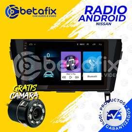 RADIO ANDROID NISSAN XTRAIL GPS BT USB WIFI BETAFIX