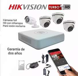 Hikvision cámaras