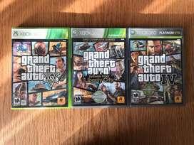 Grand Theft Auto La Colección Xbox 360