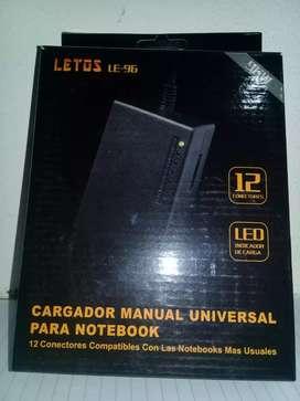 Cargador universal notebooks