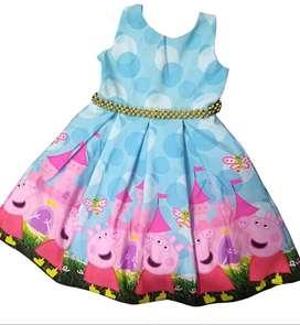 Vestidos Peppa Pig Escote en V