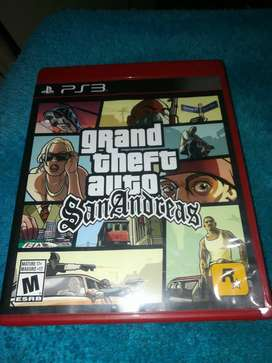 Gta San Andrea ps3