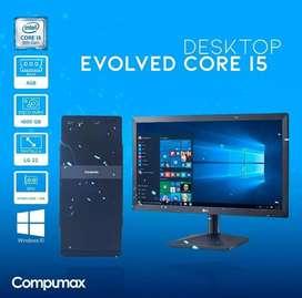 COMPUTADOR COMPUMAX I5 9gen 4gb 1tb tv1gb.