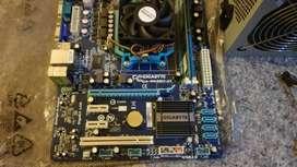 Vendo placa madre, procesador, memoria y fuente