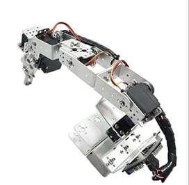 Brazo Robotico Aluminio- Robot 6 Dof Entrega Inmediata