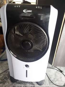 Ventilador con aire acondicionado