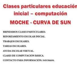 CLASES PARTICULARES INICIAL - COMPUTACIÓN