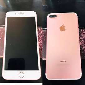 Vendo IPhone 7 plus Rose Gold de 32 GB