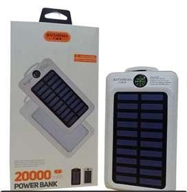 Power Bank 20.000 Luz Solar Excelente Calidad