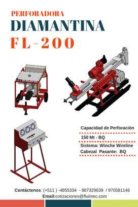 PERFORADORA DIAMANTINA FL-200