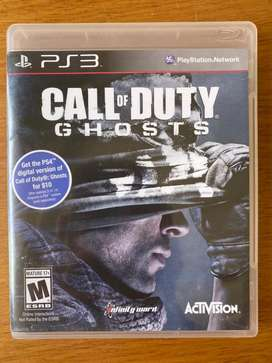 Call of duty (Ghosts) para PS3