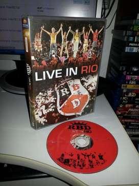 RBD DVD SAO PAULO