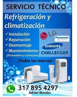 Servicio técnico de refrigeración y refrigeración