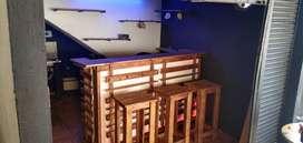 Barra con luz led